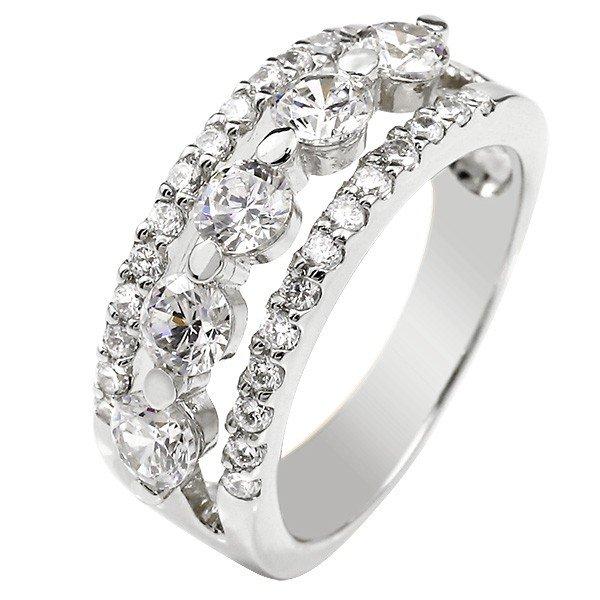 【送料無料】鑑定書付 婚約指輪 エンゲージ ダイヤモンド 幅広 ホワイトゴールドk18 ダイヤ 18金 レディース ブライダルジュエリー ウエディング 贈り物 誕生日プレゼント ギフト