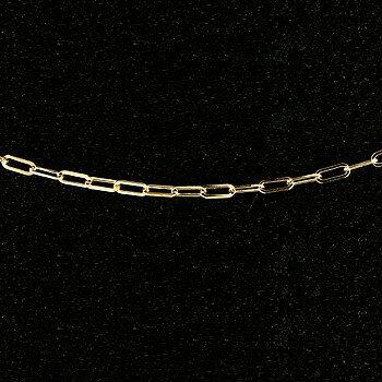 【送料無料】ネックレス イエローゴールドk18 チェーン フィガロチェーン 鎖 レディース 40cm 18金 地金ネックレス 贈り物 誕生日プレゼント ギフト
