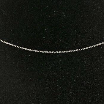 【送料無料】ネックレス ホワイトゴールドk14 アズキチェーン レディース 45cm 地金ネックレス 14金 小豆 贈り物 誕生日プレゼント ギフト
