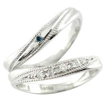 【送料無料】ペアリング ダイヤ ダイヤモンド 結婚指輪 マリッジリング ホワイトゴールドk18 ペアリング 結婚式 18金 カップル 贈り物 誕生日プレゼント ギフト