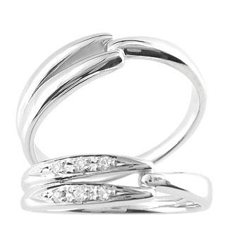 【送料無料】結婚指輪 マリッジリング ペアリング シルバー925 2本セット キュービックジルコニア ストレート カップル ペア ブライダル結婚指輪 シンプル結婚指輪 人気結婚指輪  ペア シンプル 2本セット 彼女 結婚記念日
