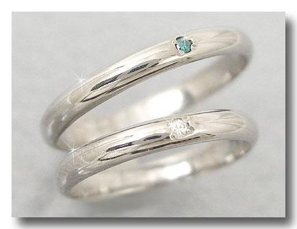 【送料無料】ペアリング 結婚指輪 マリッジリング ダイヤモンド ホワイトゴールドk18 結婚式 18金 ダイヤ ストレート カップル 2.3 贈り物 誕生日プレゼント ギフト