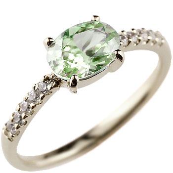 お気に入り 【送料無料】ペリドット プラチナリング ダイヤモンド 指輪 ピンキーリング ダイヤ シンプル レディース 8月誕生石 ストレート 贈り物 誕生日プレゼント ギフト