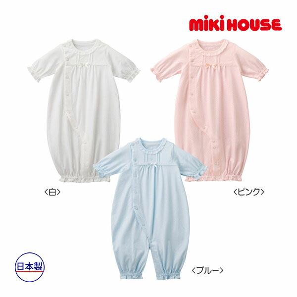 ミキハウス【MIKI HOUSE】(ベビー)爽やか透かし編みツーウェイミニ(50cm-60cm)