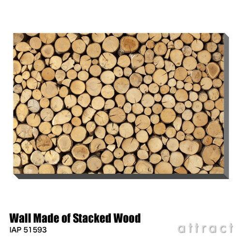アートパネル Art Panel Wall Made of Stacked Wood W800×H530mm IAP 51593 urbans アートポスター キャンバス MDF インテリア 壁掛け アクリル 油絵具 壁面 デザイン リビング 抽象画 フレーム 【RCP】【smtb-KD】