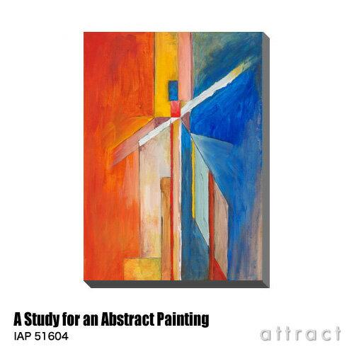 アートパネル Art Panel A Study for an Abstract Painting W530×H800mm IAP 51604 Clivewa アートポスター キャンバス MDF インテリア 壁掛け アクリル 油絵具 壁面 デザイン リビング 抽象画 フレーム 【RCP】【smtb-KD】