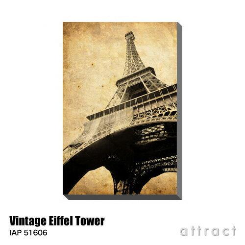 アートパネル Art Panel Vintage Eiffel Tower W530×H800mm IAP 51606 Andre Viegas アートポスター キャンバス MDF インテリア 壁掛け アクリル 油絵具 壁面 デザイン リビング 抽象画 フレーム 【RCP】【smtb-KD】