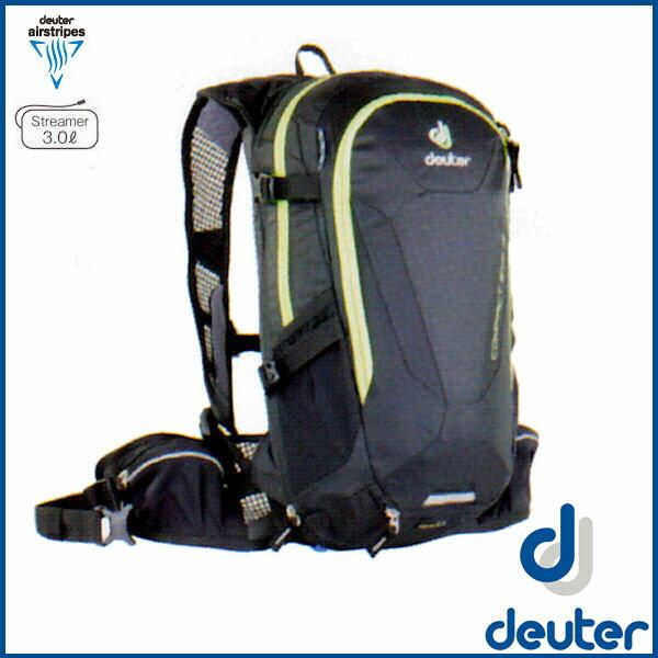 ドイター コンパクト EXP 12 (ブラック) deuter Compact EXP 12 バイク バッグ リュック D6209116-7000 東京サンエス オリジナルカラー 02P03Dec16
