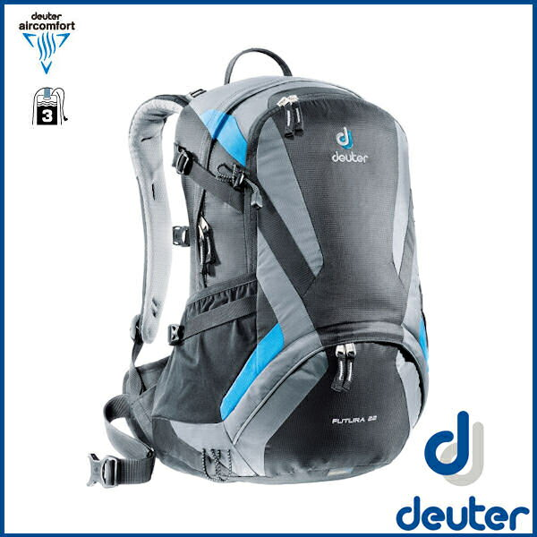 ドイター フューチュラ 22  (ブラック/チタン) deuter Futura 22 バックパック リュック D34204-7490 02P03Dec16