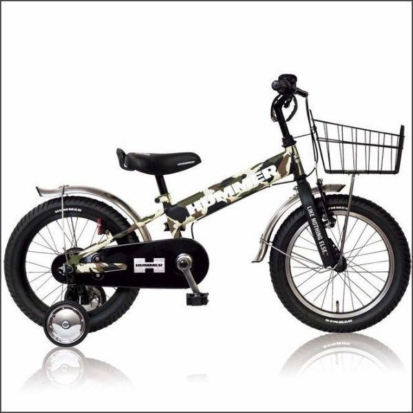 HUMMER KID'S TANK3.0 SE グリーン / 33856 / ハマー 幼児用自転車 16インチ