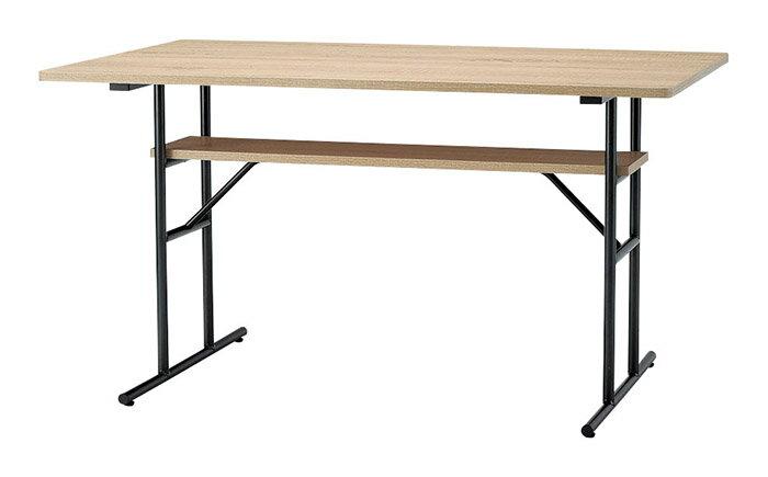 【安心のヤマトホームコンビニエンスで設置OK】【送料無料】家具 インテリア テーブルリビング ダイニングRUSO ルソー LDテーブル机 デスク 木製
