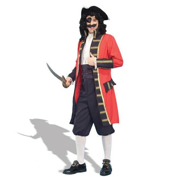 海賊 パイレーツ 衣装、コスチューム 大人男性用 船長 コスプレ Buccaneer
