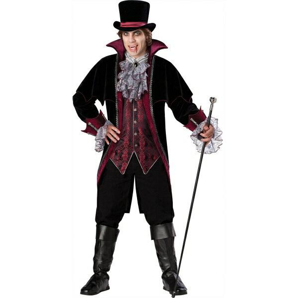 バンパイア 吸血鬼 衣装、コスチューム 大人男性用 Versailles Elite
