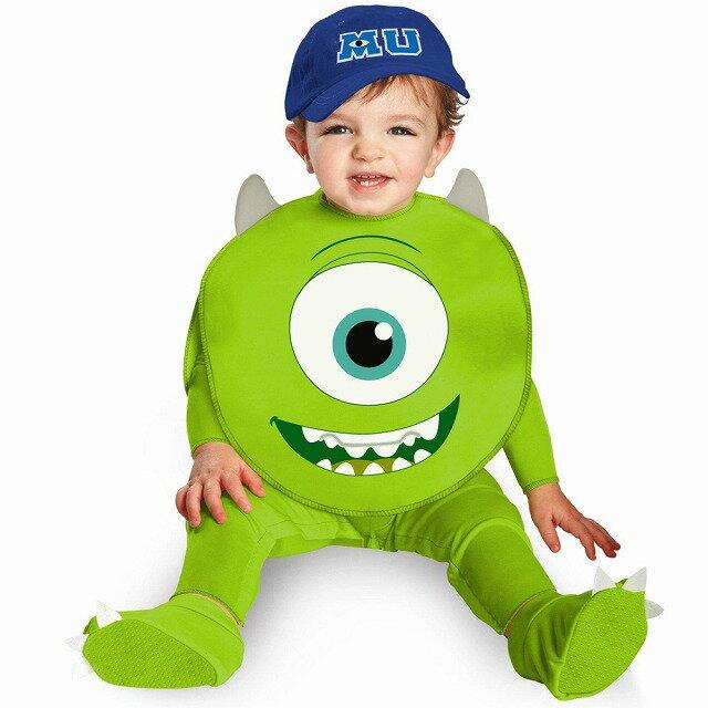 マイク 衣装、コスチューム ベビー用 ディズニー モンスターズインク Monsters U Mike