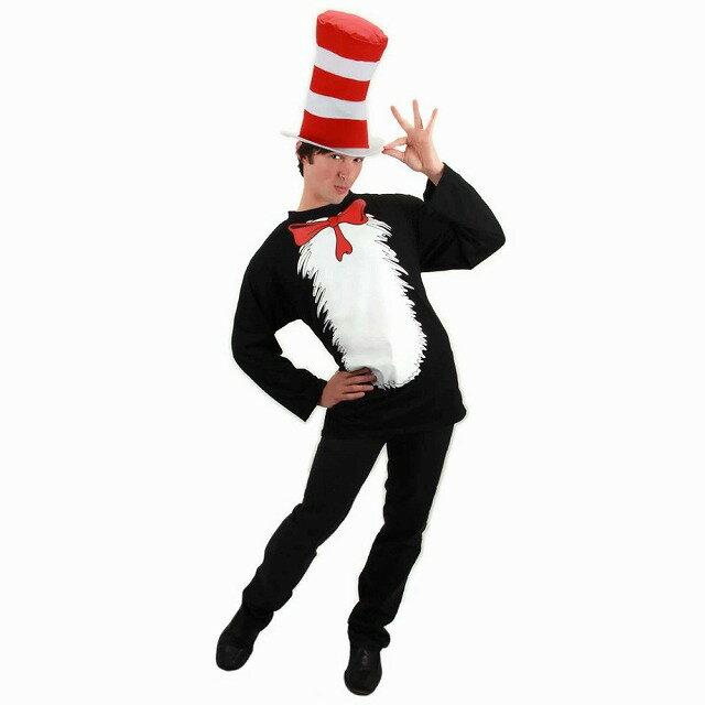 Cat In The Hat 衣装、コスチューム 大人男性用 Dr. Seuss