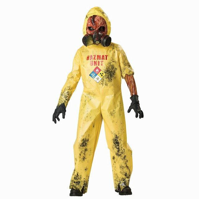 危険物処理班 ホラー 衣装、コスチューム 子供男性用