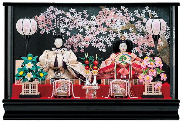 【お顔がきれい】【送料無料】雛人形ケース入り 小三五親王れいなNo17