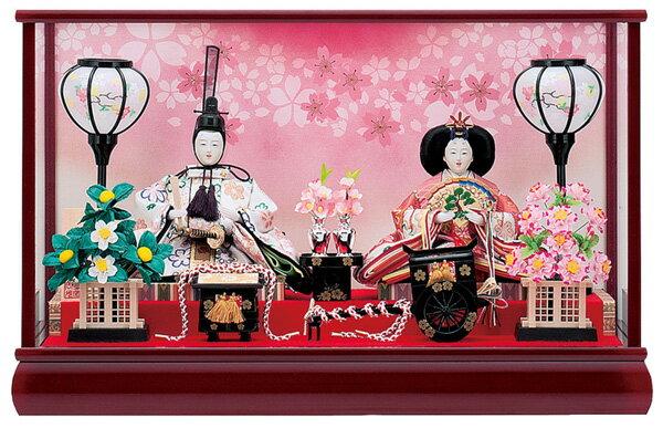 【お顔がきれい】【送料無料】雛人形ケース入り 小三五親王春香No16