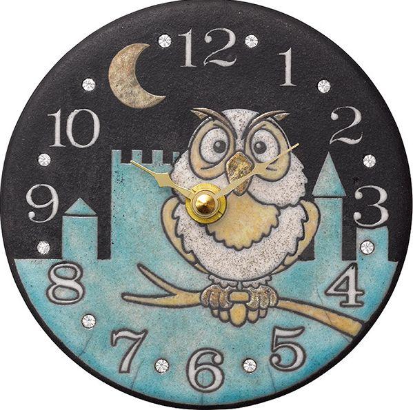アントニオ・ザッカレラ陶器 置き掛け兼用時計 ZC925-004【楽ギフ_包装】【楽ギフ_のし】【楽ギフ_のし宛書】【楽ギフ_メッセ入力】【楽ギフ_名入れ】