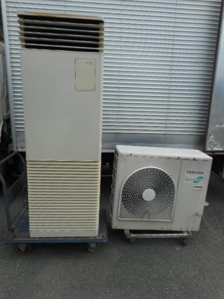 東芝 業務用 4馬力 エアコン APARF11224-1 床置型 冷房専用 200V【中古】