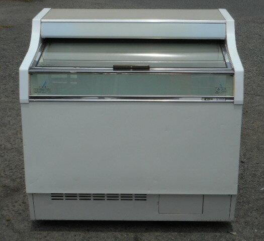 2006年製 サンデン 冷凍 ショーケース GSR-900XB W900D727H886mm 157L アイス 冷凍庫【中古】