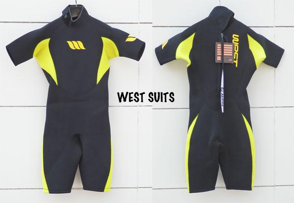 人気商品 WEST SUITS/ウエストスーツスプリングスーツ/Size M/BLK/0303