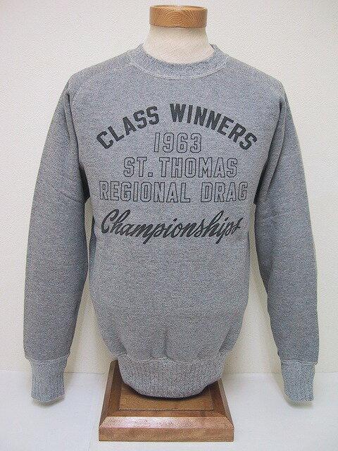 Whitesville[ホワイツヴィル] スウェット CLASS WINNERS (H.GRAY)