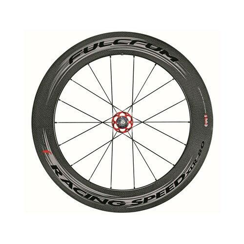 (FULCRUM/フルクラム)(自転車用ホイール)Racing Speed XLR 80 チューブラー (Rノミ)(カンパ ダークラベル(1142659))