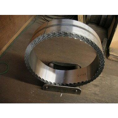 マルゲン帯鋸 152mm幅×1.05×35P 7901~8200mm長 ピッチ切り加工品