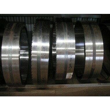 TBS帯鋸 152mm幅×1.25×35P 7601~7900mm長 ピッチ切り加工品