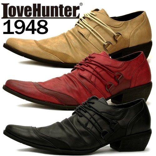 カジュアルシューズ メンズ PUレザー お兄系 バターナイフシューズ ショートブーツ 靴 プレゼント ギフト 簡易包装可