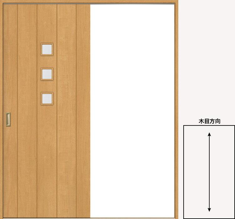 送料無料 片引戸 Vレール方式 ファミリーライン FKH-CML 透明ガラス ノンケーシング【錠なし】1820【LIXIL/リクシル】【建具】【建具ドア】【扉】【ドア】【リフォーム】【DIY】【02P18May15】