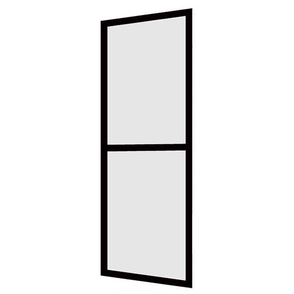LIXIL/リクシル 玄関引戸 菩提樹用網戸 2枚建戸ランマ無 普通枠 233型(千本格子中割れ) 6159 W1790*H1847【玄関】【出入口】【引き戸】