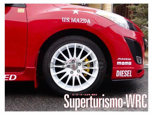 【タイヤ・ホイール 4本セット】◆OZ スーパーツーリズモ WRC◆Superturismo WRC◆205/50R17◆新品 選べるタイヤ ◆タイヤ・ホイール 新品4本(1台分)セット