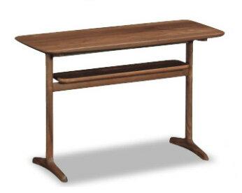 カリモクTW3100/リビング机/ソファーサイドテーブル/机/シンプル/送料無料/日本製家具/オーク材/木製ナラ