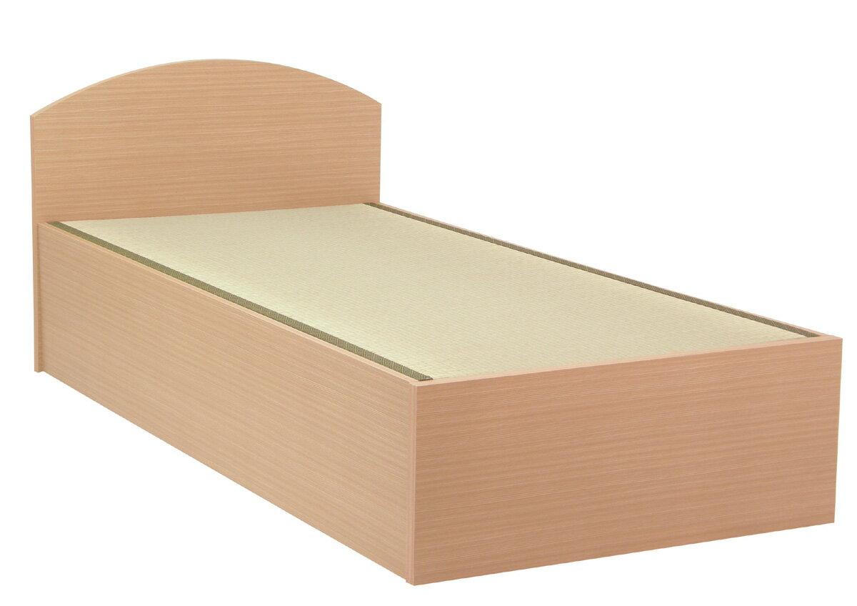 セブンベッド/モネ/ノーマル/フラット/シングル/シンプル/タタミベッド/たたみ/畳ベッド/ライト