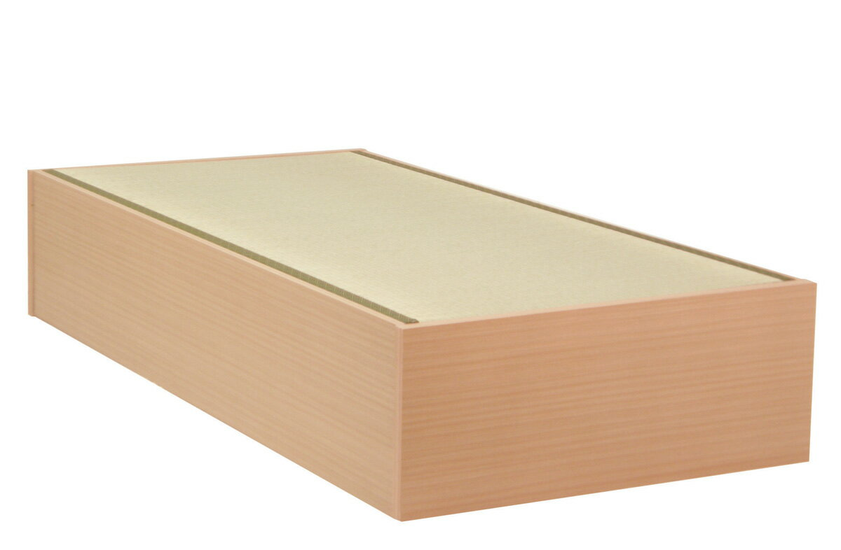 セブンベッド/モネ/ノーマル/ヘッドレス/シングル/シンプル/タタミベッド/たたみ/畳ベッド