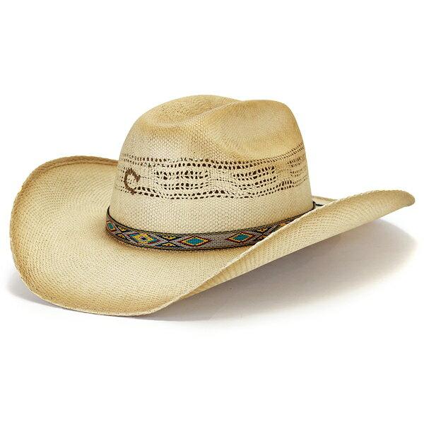 charlie 1 horse テンガロンハット メンズ ラフィア ハット 春夏 ストローハット つば広 テンガロンハット ウエスタンハット 個性派 レディース ネイティブ チャーリーワンホース 麦わら帽子 日よけ 焼き印入り Lサイズ XLサイズ / ナチュラル [ cowboy hat ] [ straw hat ]