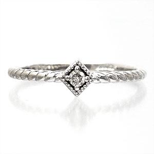 【送料無料】ダイヤモンドリング K10ゴールド ピンキーリング 指輪【コンビニ受取対応商品】  クリスマス プレゼント