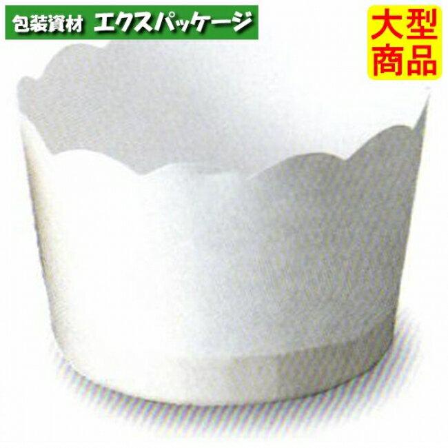 【天満紙器】M508 ポテトカップ (白) 3000入 2640640 【ケース販売】