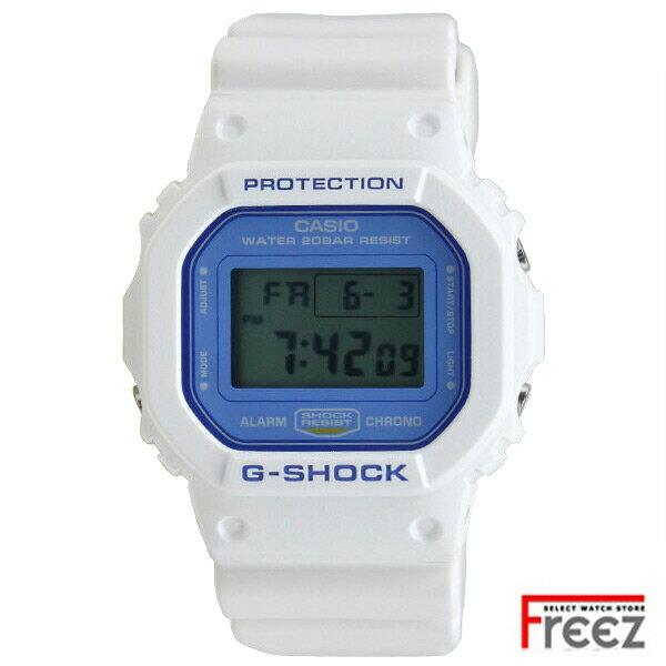 CASIO G-SHOCK 時計 メンズ 腕時計 WHITE×LIGHT BLUE DW-5600WB-7【あす楽】
