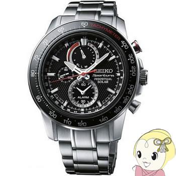 [逆輸入]SEIKO(セイコー) ソーラー 腕時計 スポーチュラ アラーム クロノグラフ パーペチュアル SSC357P1【smtb-k】【ky】【KK9N0D18P】