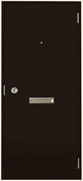 トステム (LIXIL) 半外付 フラッシュドア ポスト・アイ付 W785×H1820(07818)