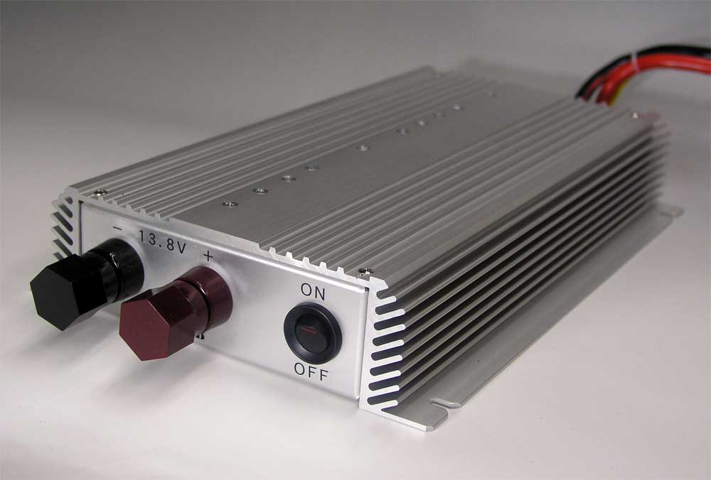 【新製品】DC-DC アップバーター UP-1260B12V → 13.8V  60A★ノイズオフセットボリューム装備★