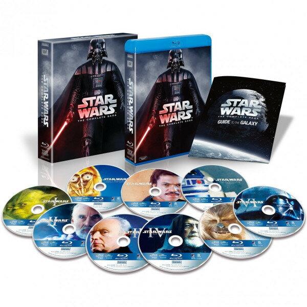 送料無料 スターウォーズ スター・ウォーズ コンプリート・サーガ ブルーレイBOX 9枚組 初回生産限定 Blu-ray STAR WARS COMPLETE SAGA