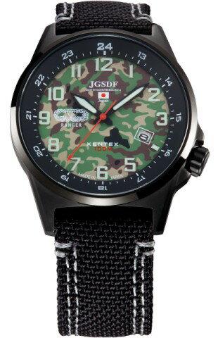 自衛隊腕時計/陸上自衛隊迷彩モデルS715M-08正規品/日本製ミリタリー時計 JSDF KENTEX ケンテックス