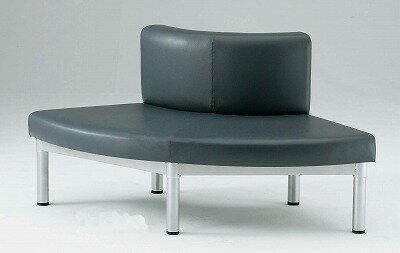 TOKIO【藤沢工業】 ロビーチェア(待合室用長椅子)ビニールレザータイプ LS-R45L W1414xD720xH700