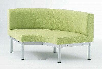 TOKIO【藤沢工業】 ロビーチェア(待合室用長椅子)布張りタイプ LS-R54 W1414xD720xH700