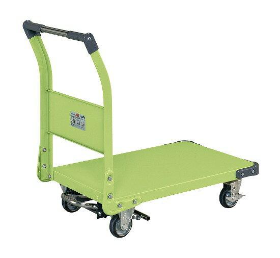 サカエ(SAKAE) 特製四輪車(フットブレーキ付) TAN-33BR W805xD530xH855mm