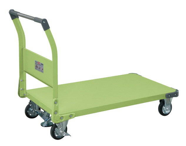 サカエ(SAKAE) 特製四輪車(フロアストッパー付) TAN-66F W1105xD630xH876mm